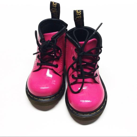 Dr. Martens Other - Dr. Marten Hot Pink Boots Sz 5 toddler